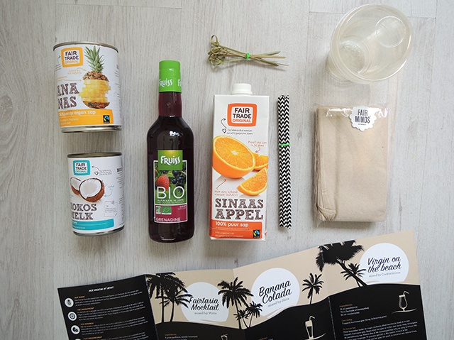 fairtrade mocktail kit