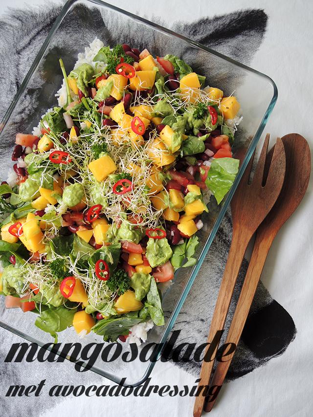 recept mangosalade