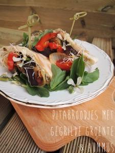vegetarische pitabroodjes