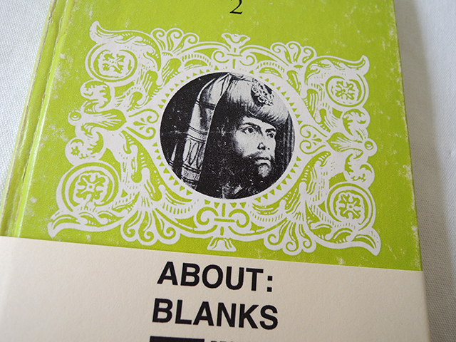 About Blanks schetsboek