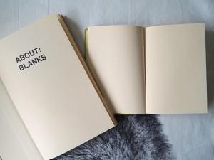 About Blanks schetsboek