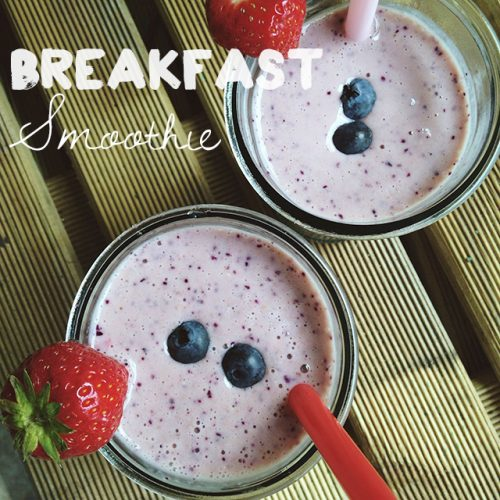recept ontbijt smoothie