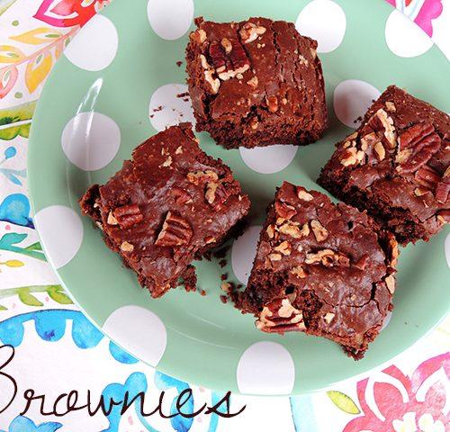 recept vegan brownies