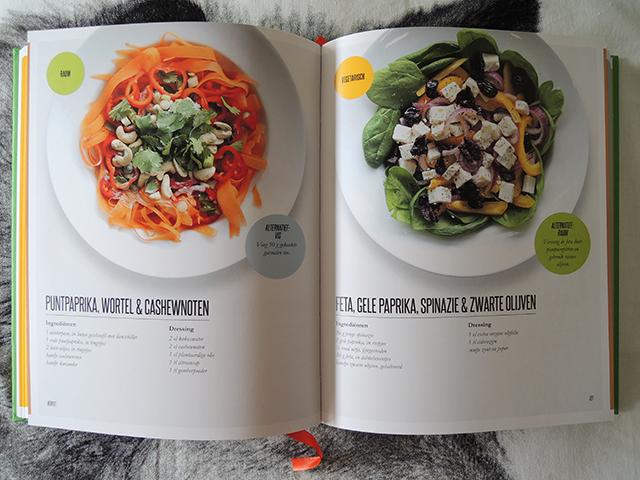 Kookboek supersalades ikbenirisniet for Vegan kookboek