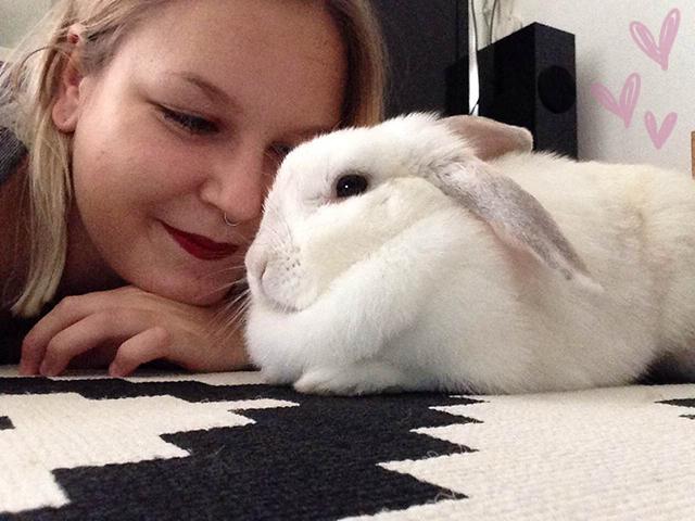 Iris en het leukste konijn van de wereld