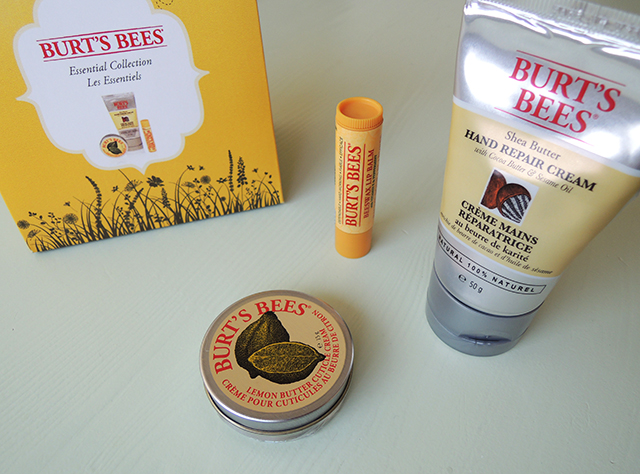 burts bees essential collection