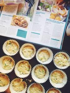 hartige muffins maken