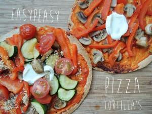 pizza tortillas recept