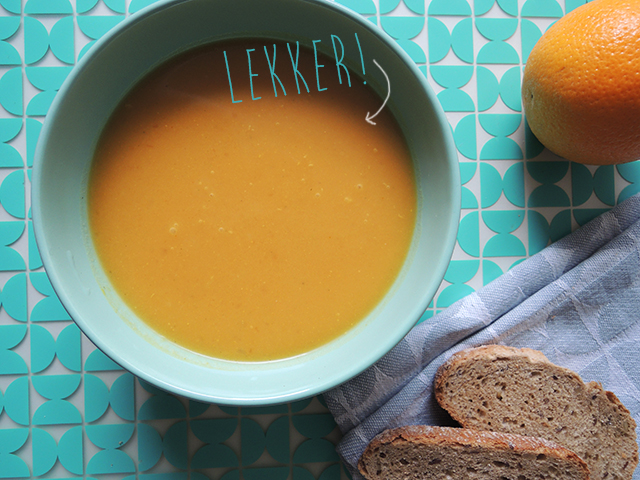 pompoensoep met sinaasappel