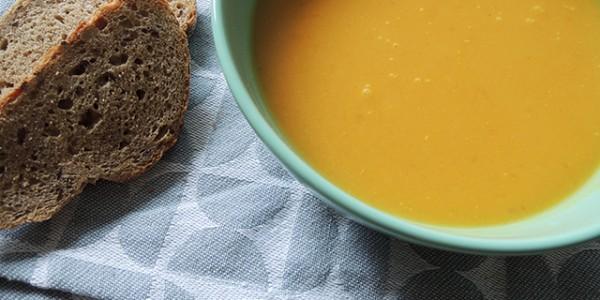 recept pompoensoep met sinaasappel