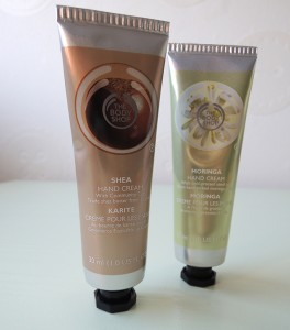 the body shop handcreme review