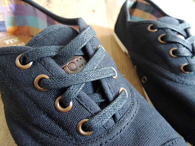 toms cordones canvas