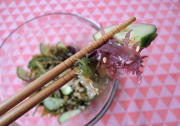 zeewiersalade recept