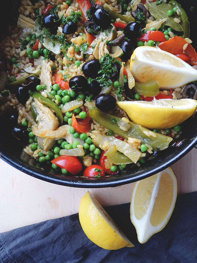 groentepaella recept