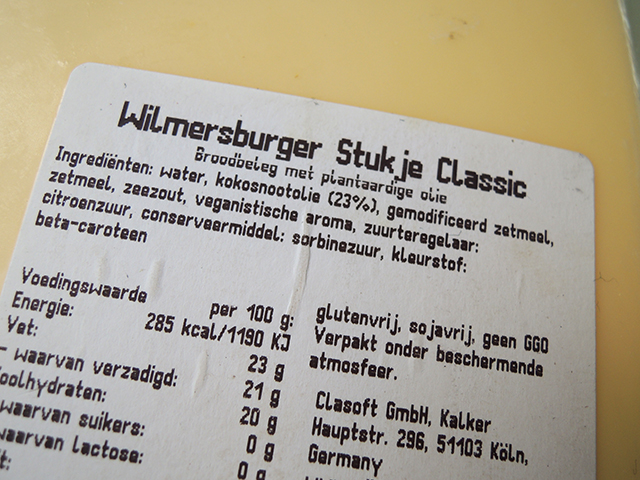 ingredienten wilmersburger