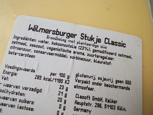 ingredienten wilmersburger