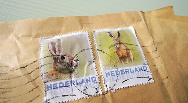 konijnenpostzegels