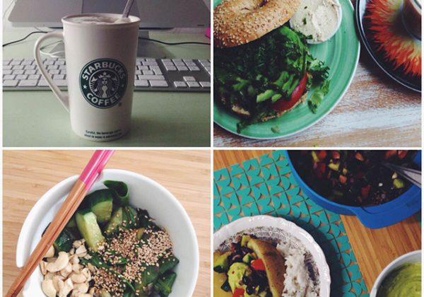 vegan eetdagboek woensdag