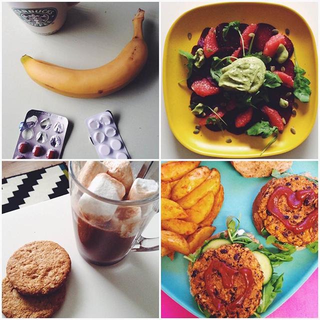 vegan ontbijt lunch en avondeten