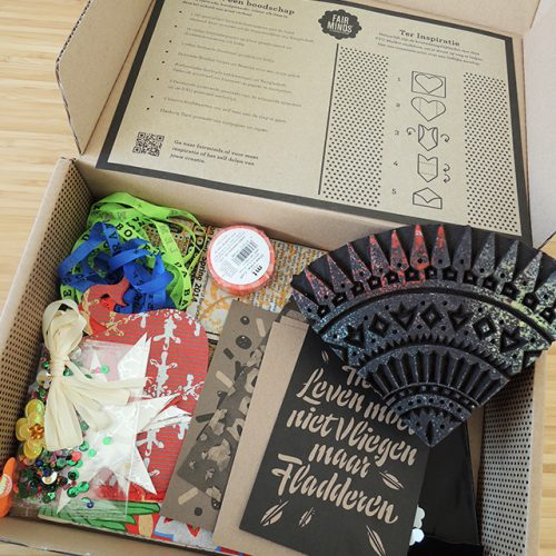 fairminds mail kit inhoud