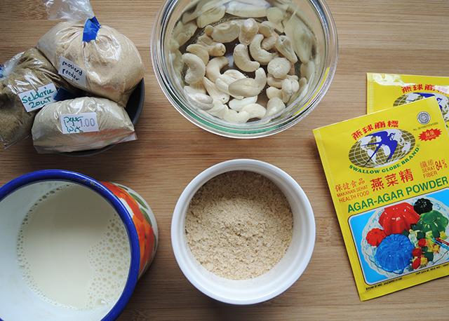 ingredienten veganistische kaas