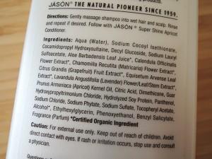 jason ingredienten shampoo