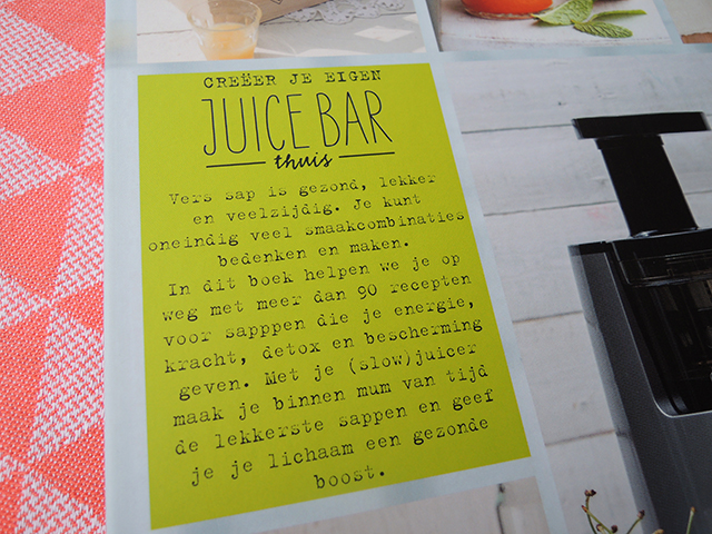 De Slowjuice Bar boek review