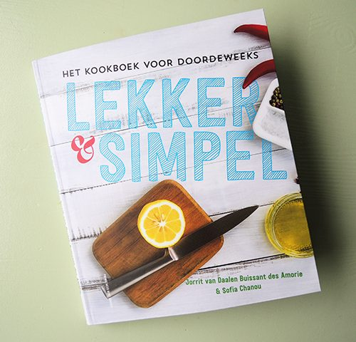 kookboek lekker en simpel