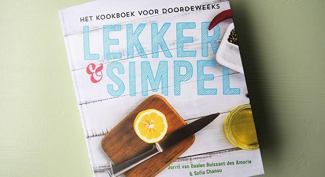 Kookboek lekker en simpel for Kookboek veganistisch