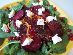 recept salade biet geitenkaas
