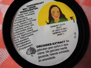 lush celestial ingredienten