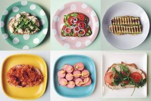 vegetarisch beleg voor op brood