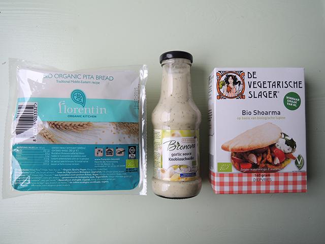 vegetarisch broodje shoarma