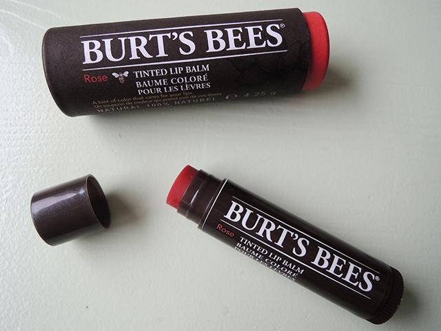 burts bees tinted lipbalm