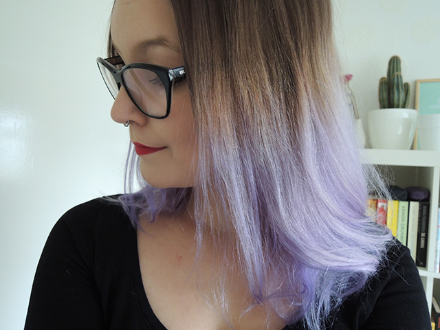 Super Purple hair don't care | IKBENIRISNIET HR72