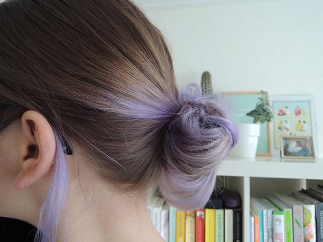 paarse haarverf