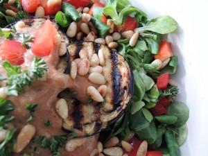 recept salade met hummus