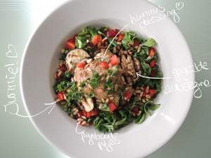 recept vegetarische salade
