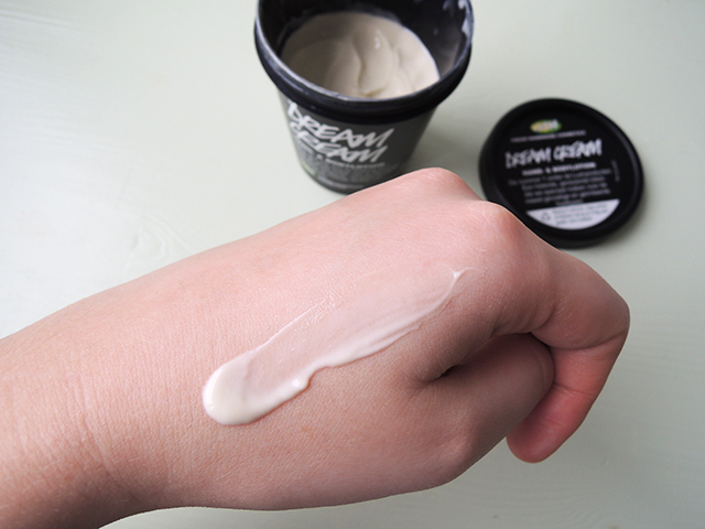 review lush dream cream