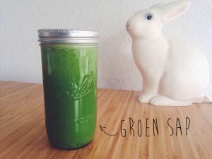 groen sap recept