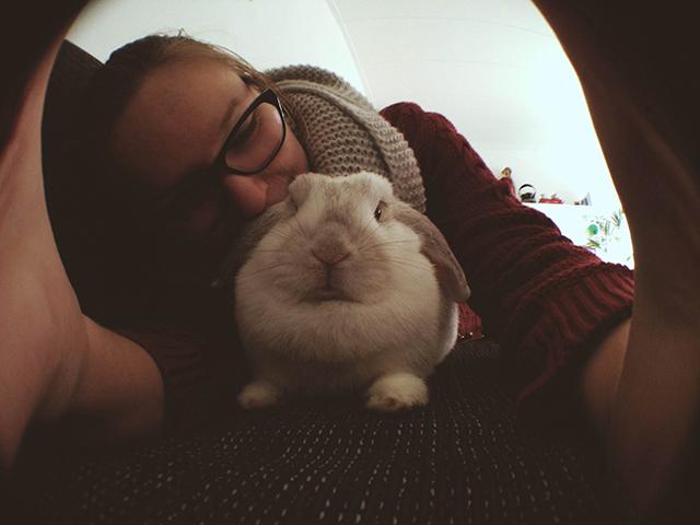 iris en bunny von d