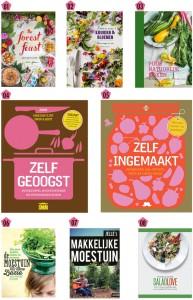kookboeken collage