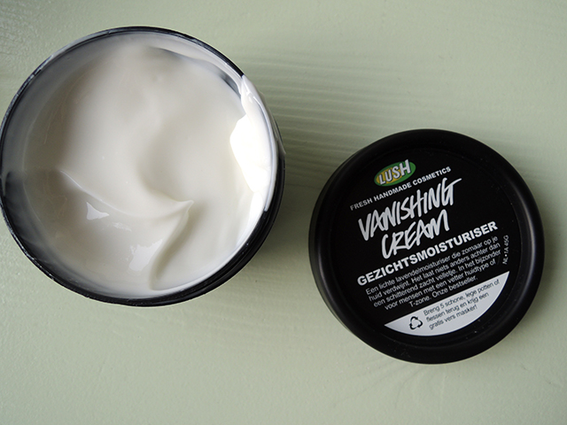 lush vanishing cream moisturiser