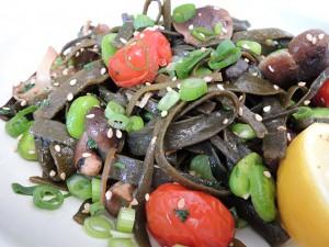 pasta van zeewier