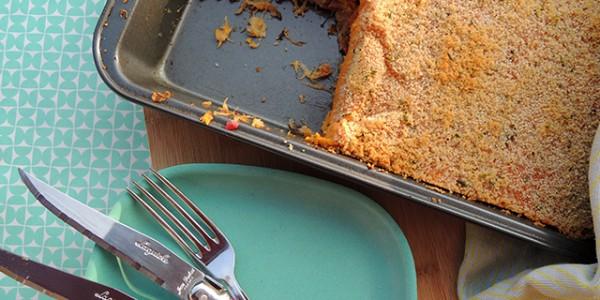 Recept: Zuurkoolschotel met zoete aardappel en vegetarische speckjes