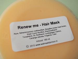 Wat maakt je mooi hair mask