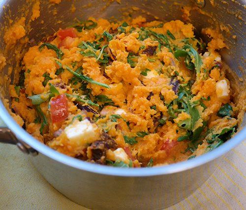 Recept: Zoete aardappelstamppot