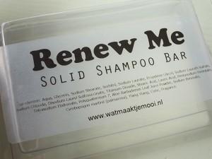 Wat maakt je mooi shampoo bar