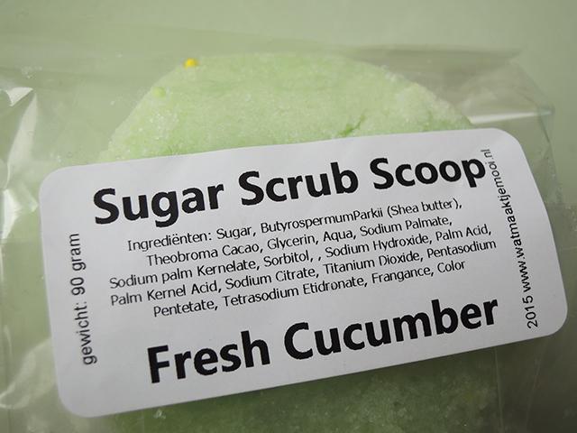 wat maakt je mooi sugar scrub