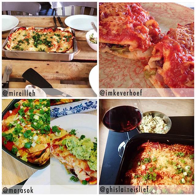 enchiladas op instagram